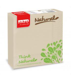 LUCART SERVETELE DE MASA FATO NATURAL 33X33 - NATURAL STYLE, 50 BUC/SET