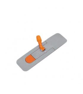 TALPA CU MAGNET PENTRU MOP PLAT 50 CM - MOP FRAME  GREY/ORANGE  50 CM  M 03